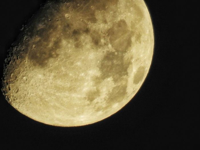 Moon By Nikon Astronomy Moon Discovery Exploration Space Exploration Planetary Moon Moon Surface Glowing Space Low Angle View Sphere Majestic Sky Scenics Tranquil Scene Beauty In Nature Close-up Tranquility Night Dark First Eyeem Photo