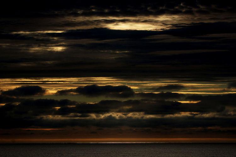 Mitternachtssonne Beauty In Nature Cloud - Sky Horizon Horizon Over Water Scenics - Nature Sea Sundown