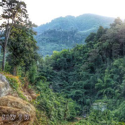 Moe-Meik hydro-power station in the dense Rainforest. မိုးမိတ္ ေရအားလွ်ပ္စစ္ Moemeik Mogok Mandalay Shan Myanmar Burma Myanmarphotos Hydro Powerstation Igersmyanmar Igersmandalay Burmeseigers Rainforest Galaxy_grand2 Zawth