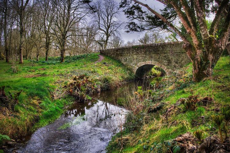 HDR Medieval Blarney Castle Ireland