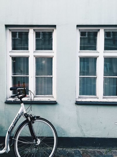 Copenhagen Denmark Bicycle Built Structure Transportation Mode Of Transport Outdoors Day No People Old-fashioned City