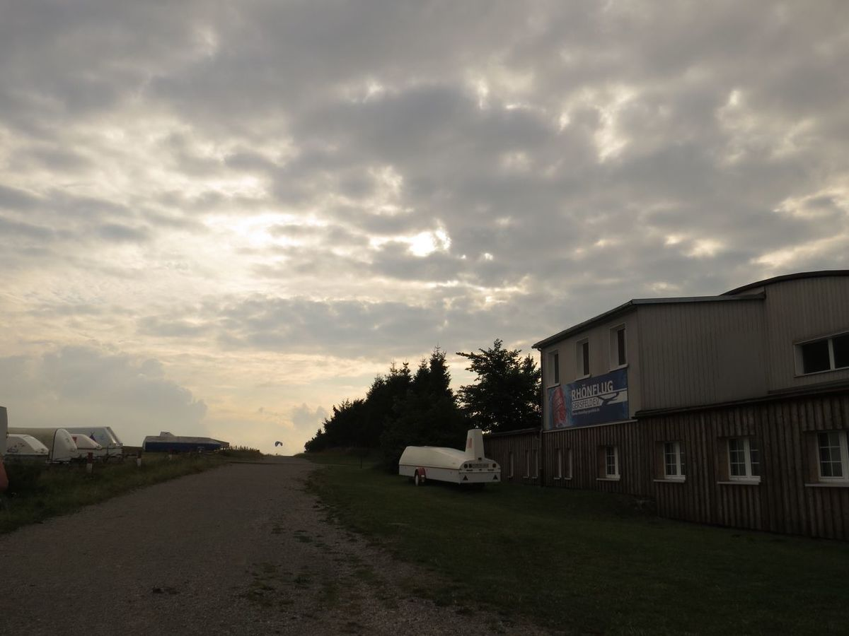 Beauty In Nature Cloud - Sky Empty Germany Getting Inspired Landscape Nature Outdoors Overcast Relaxing Moments Residential Structure Rhön Road The Way Forward Tranquil Scene Travel Destinations Travel Photography Vacation Time Wasserkuppe