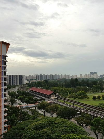 Good Morning from Lakeside, Singapore Architecture Lake View Train Station Singapore Housing Housing Estate Singapore View Garden