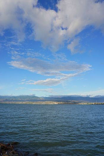 Somewhere in PaluCity Outdoors Landscape Sea And Sky Blue Cloud - Sky No People INDONESIA Sky Water Sea Beauty In Nature
