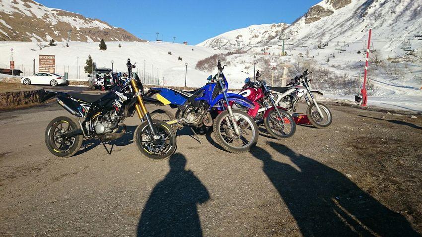 1800mt Mountains Panoramic Motorbikes Bike Sunshine Sun Snow Nature