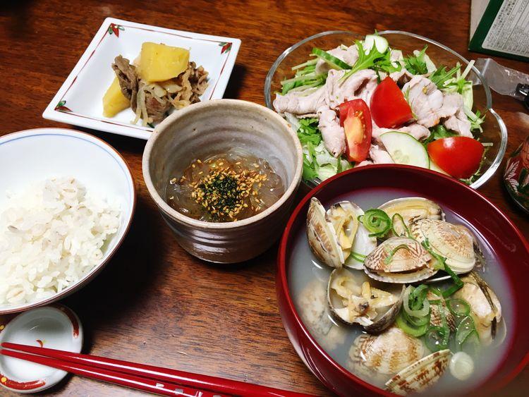 ごちそー٩(ˊᗜˋ*)و Yumyum( ˙༥˙ ) Dinner Dinner Time Yummy
