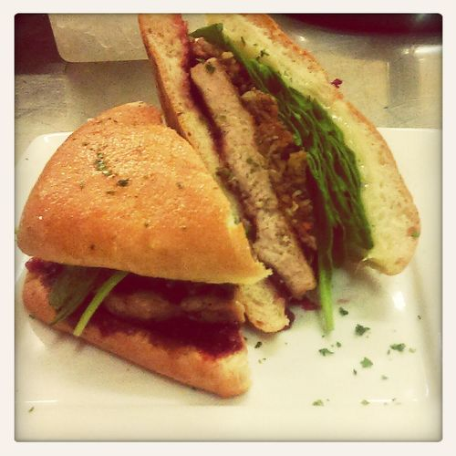 Black Friday Turkey Burger