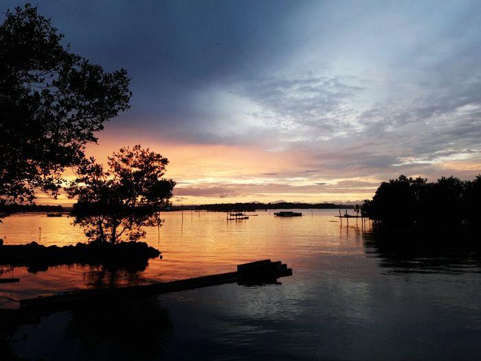 Sunset on the beach ❤ First Eyeem Photo EyeEmNewHere