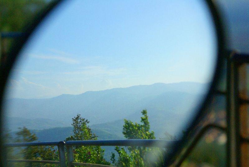 Natural Relaxing Hello World Specchio Riflesso Giorno