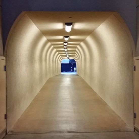 Tunnel at StanfordStadium very cool but still can't compare to the tunnel at Huntsman in Utah