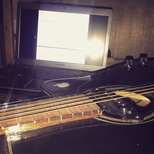 Playing with my friend Guitar Strings Fingerstyle Music Secretbase