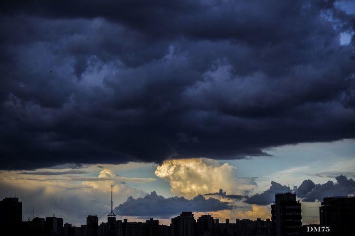 Storm Tempestade São Paulo Brasil Brazil Canon Sky And Clouds storm coming Sky
