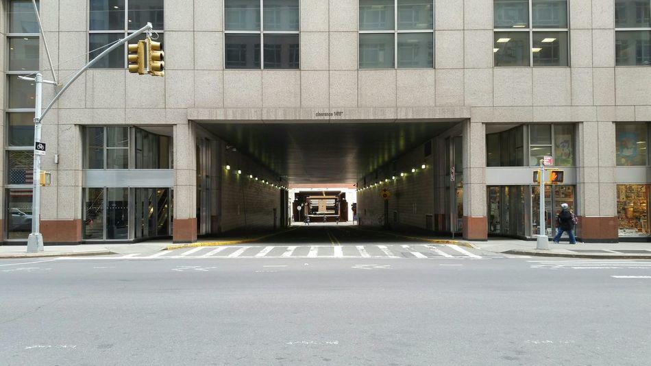 Urban geometry nyc street walking traffic