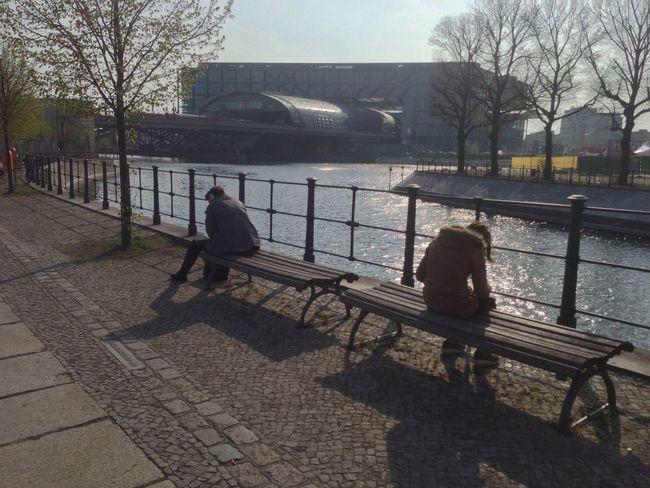 Antisocial Bench Alone Riverside River