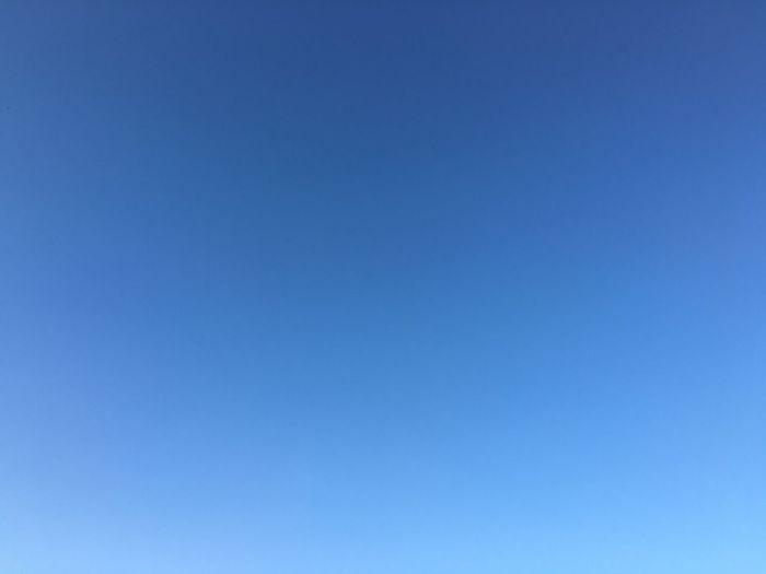 青空 Sky Blue 澄んだ空 ダレカトミタイソラ