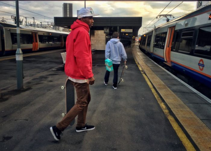 Skateboarding Skateboarder Street Photography Public Transportation London City Light And Shadow EyeEm Best Edits EyeEm Eye4photography  EyeEm LOST IN London