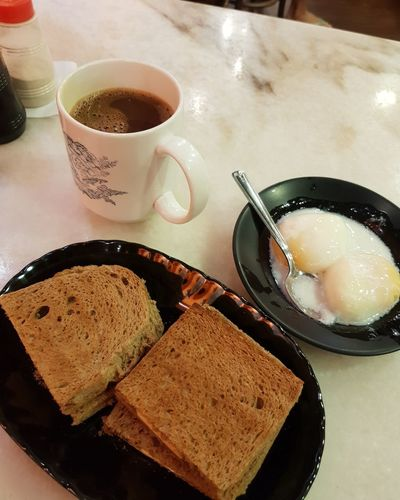 Kaya Toast Mobilephotography Getty Images Natgeo Natgeoyourshot Andriodphotography Toasted Bread Foodporn Eggs... Singaporestyle Breakfast Food