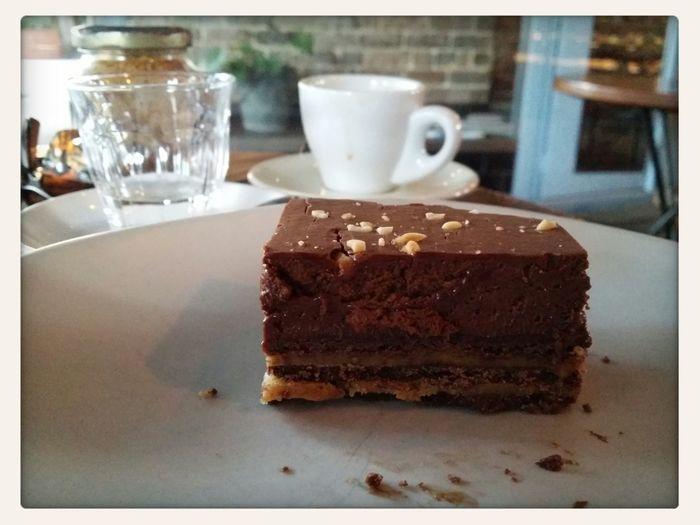 Chocolate And Peanut Butter Ganache