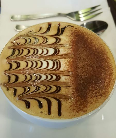 Cappuccino Coffee Coffeeart Cafe Foodporn Foodphotography Chocolate Milkfoam Cocoapowder Art Is Everywhere