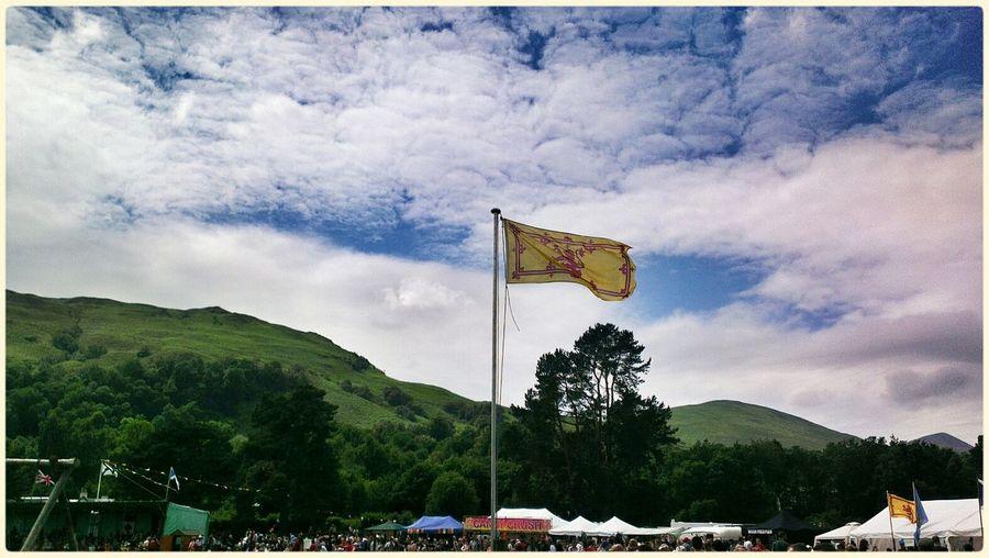 Highland Games.... Enjoying The Sun Scotland Skyporn Sky_collection