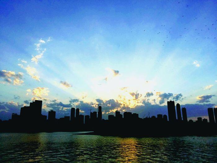Sunset in UAE Sunset UAE Mesmerising Skies