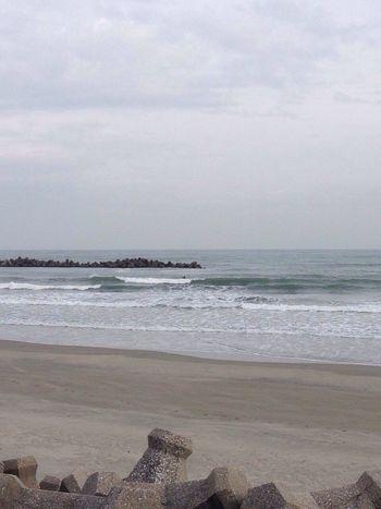 今日はよかった♪( ´▽`) 海 波乗り サーフィン ロングボード