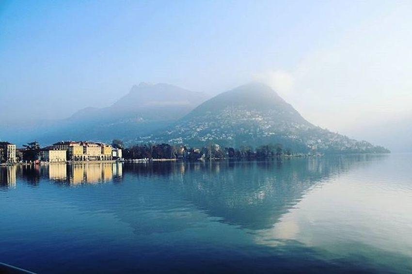 Lake Laguna, Switzerland. 🗻 📷HD Switzerland Lago Lago Di Lugano