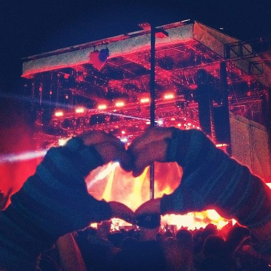 Lifeisbeautifulfestival Heartagram Lasvegas Killers loveheart ?❤️