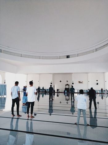 prayer time Photography Photooftheday Photo Indoors  Day Architecture Mosque INDONESIA Built Structure D Togetherness