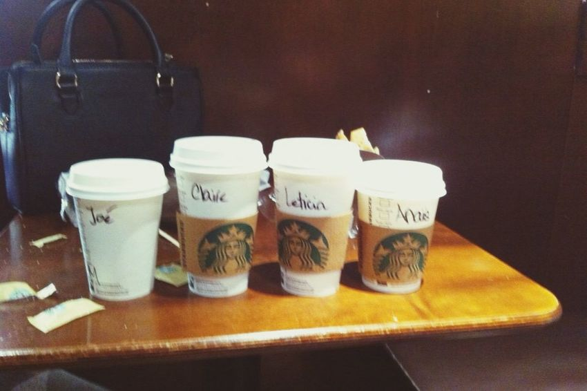 Paris Starbucks ?? Friends