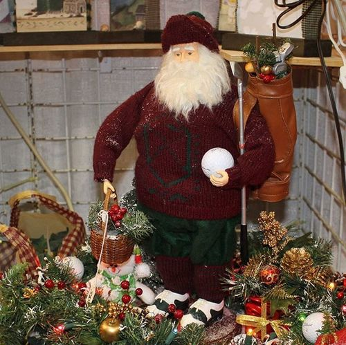 For the golfer in your family, check out Charlie's Place at the Holiday Shoppers Fair.... Oceancitycool OceanCity Maryland Ocmd Golf Holidays Fair Tourworco Christmas