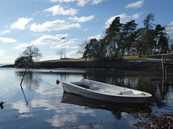 Huk Seaside Boat Oslofjorden Sunny Day Enjoying Life Lovely Day Nature At Your Doorstep Oslove Reflection
