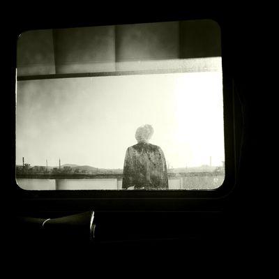 Waiting at Porto Torres No Flash Claunch 72 Monochrome Film Waiting