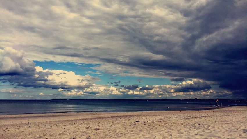 💎 Beach Sea Cloud - Sky Beauty In Nature Scenics Storm Cloud
