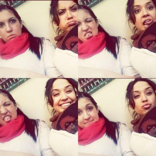 boo and I #nailsalon
