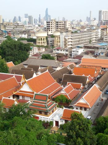 Architecture Banngkok City Built Structure Capital City City Cityscapes Coulds And Sky Residental District Sky Sky And Clouds Urban Skyline