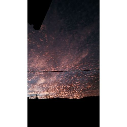 No People Night Outdoors Galaxy Star - Space Astronomy Dramatic Sky Cloud - Sky Red
