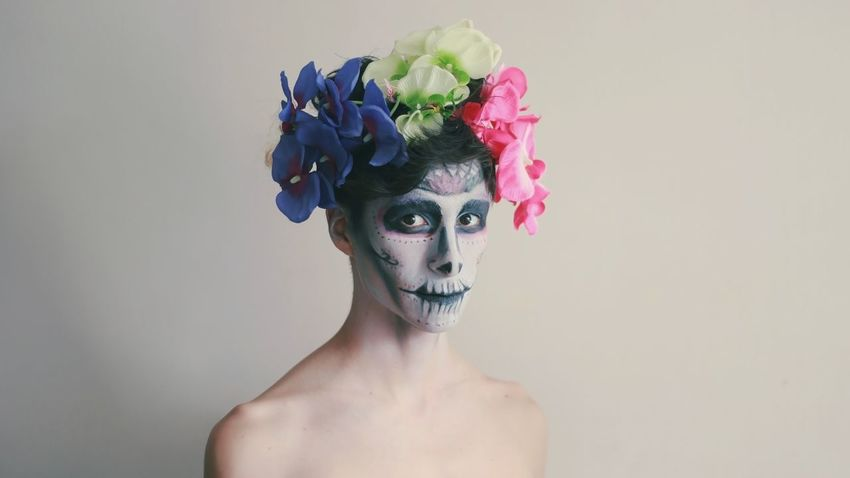 Catrina as a boy (instagram.com/pablopoulain) Flower Studio Shot One Person Rose - Flower Headshot Shirtless Freshness Beauty In Nature Portrait Fragility Real People Young Adult Headdress Close-up Beautiful Woman White Background Beauty Day Of The Dead Fashion Model Day Queer Gay Gayboy Gaymen Catrina