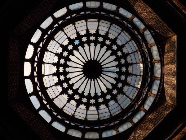 Architecture Built Structure Cupola Dome Kiosco Moris Low Angle View Mudéjar No People Pattern Santa Maria La Rivera The Architect - 2017 EyeEm Awards