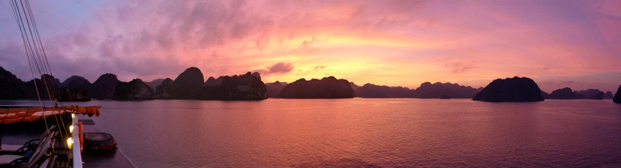 Taken on a traditional junk cruise in Ha Long Bay, Vietnam Ha Long Bay Ha Long Bay Cruise Indoors  Landscale Landscape Landscapes Light Vientam