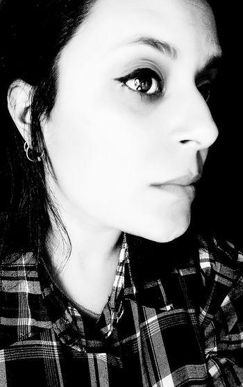 Black Background Portrait Beautiful Woman Beauty Young Women Beautiful People Human Face Headshot Human Lips Human Eye