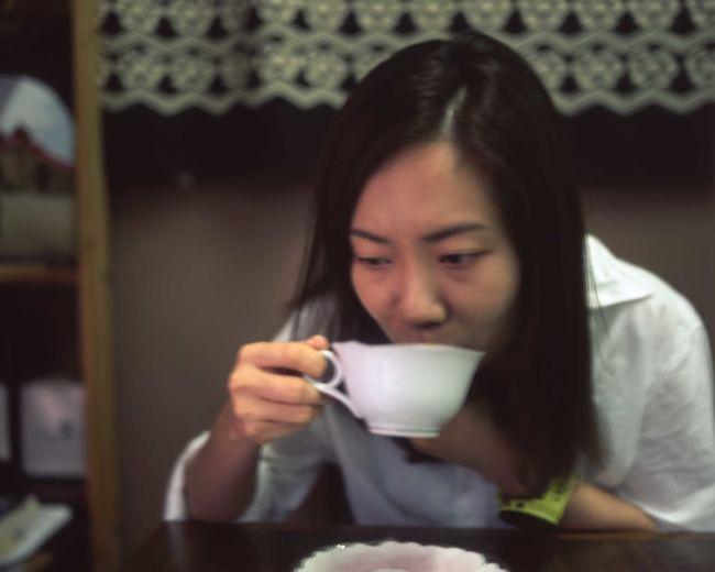 coffee shop at sai kung Coffee Coffee Time EyeEm EyeEm Gallery Film PENTAX67 Close-up Coffee - Drink Coffee Cup Drink Drinking Enjoying Life Film Photography Filmisnotdead Food And Drink Fujifilm Lifestyles Portrait Refreshment