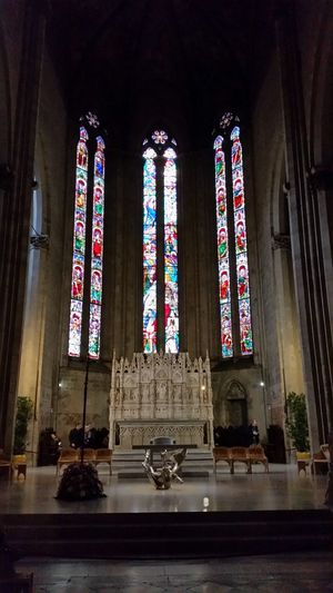 Arezzo Duomo Inside Chatedral Italy Italian Monuments