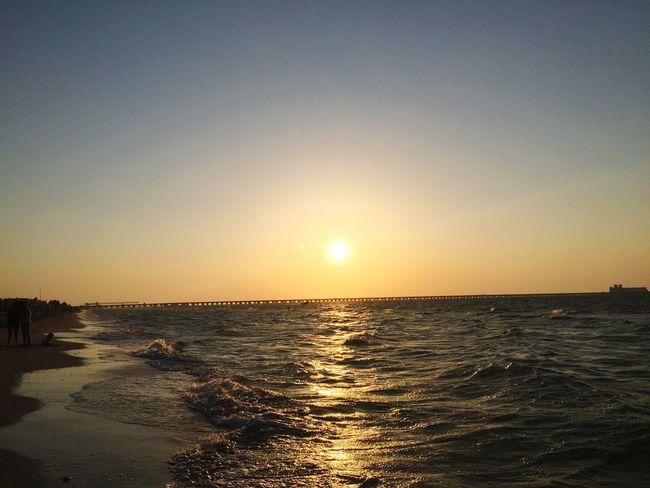Beach Time Beachphotography Sunset I Love It ❤ Sea And Sky Walk On The Beach  Atardecer ...  Beach Day