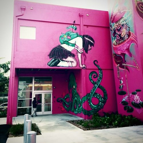 Miami ad school. This place is awesome. If you ever around go in and just ask for a tour.