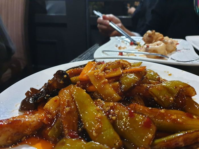 eating Chinese