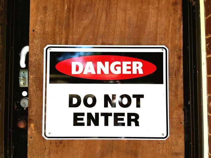Outdoors Door Sign Wood Abandoned Buildings