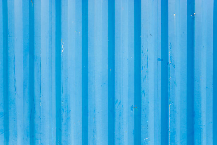 Backgrounds Blue Business Close-up Container Corrugated Corrugated Iron Corrugated Metal Day Full Frame Industry Metal No People Old Outdoors Pattern Shipping Containers Textured  Trade Weathered