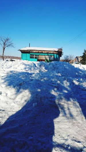 Winter Home Sky