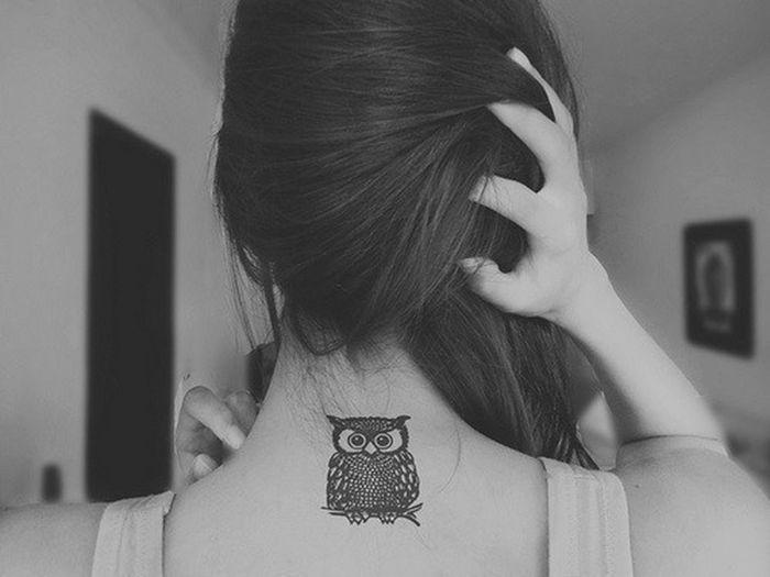 Tatoo Tatoo !!! ♥♥  Girl Gufo